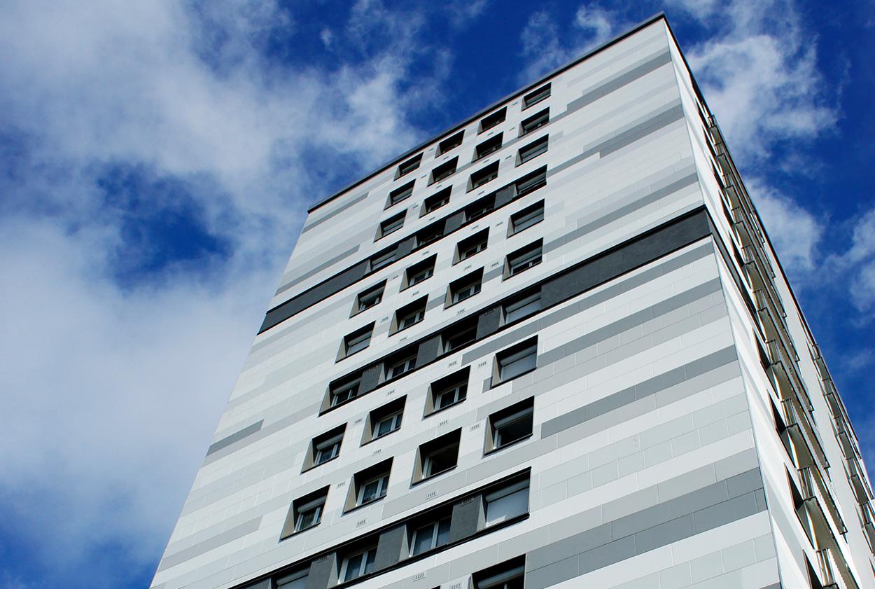 Visuel - facade en béton color - vetisol