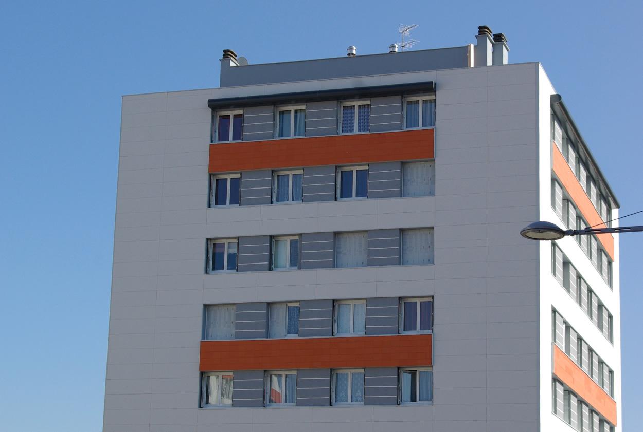 Visuel - facade en béton mineral color  - vetisol