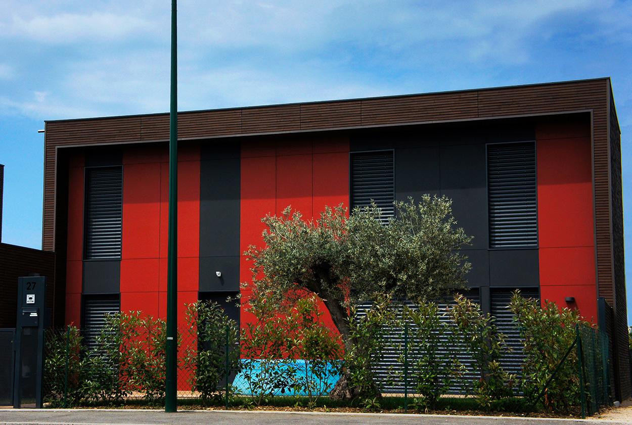 Photo façade - chromatique - Vetisol