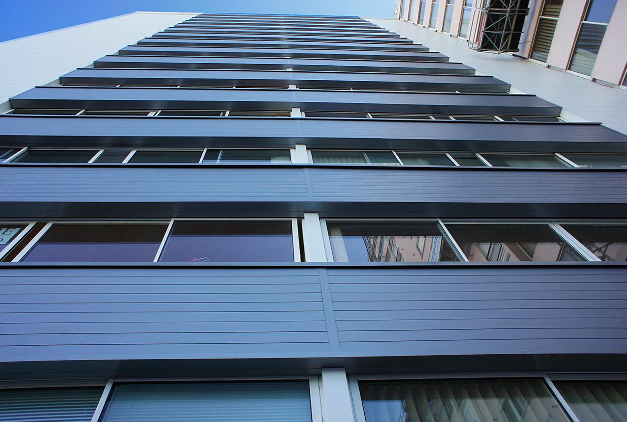 Photo façade - métal - clin veture - Vetisol - Vetisol