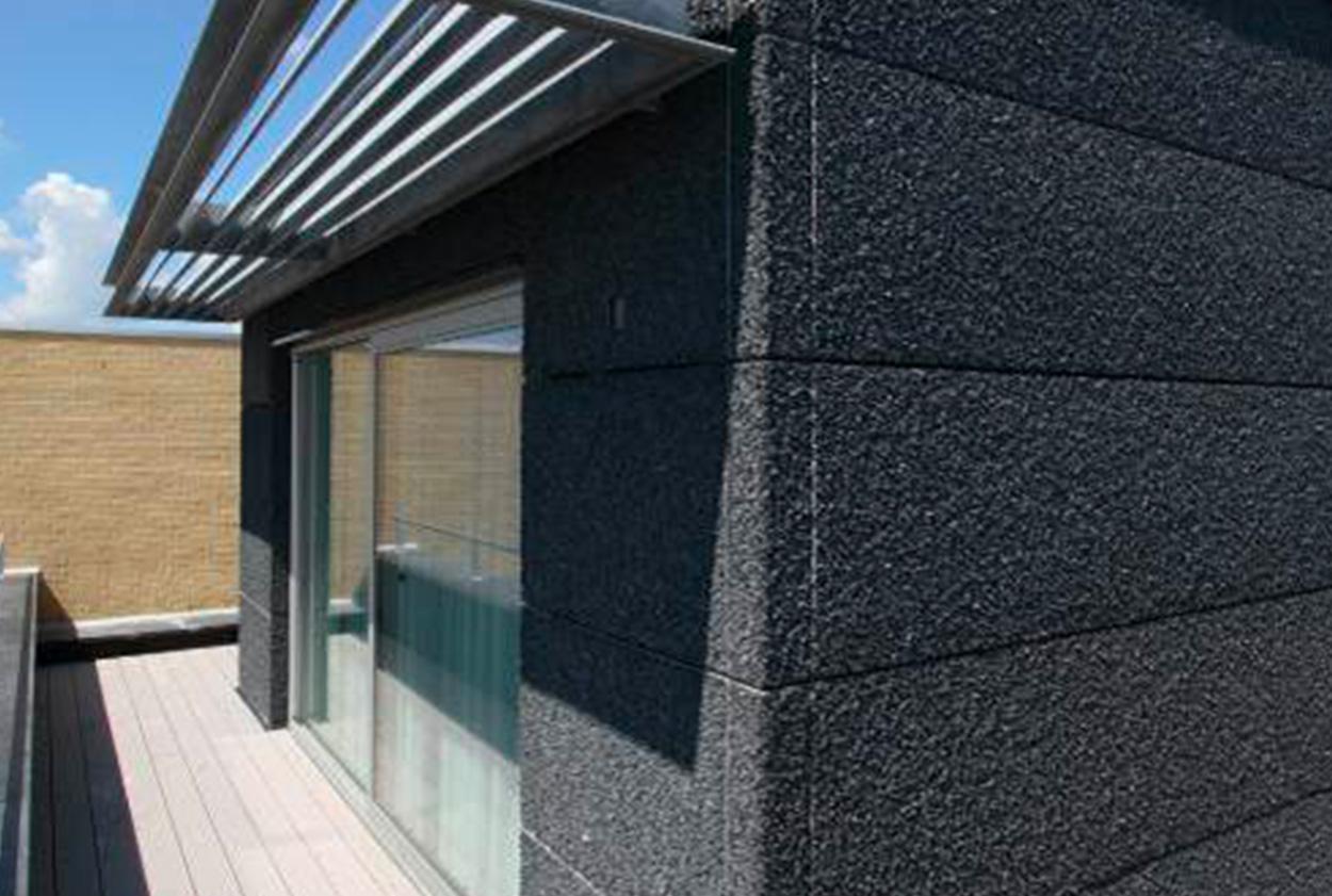 Photo façade - composite - Steni nature - Vetisol