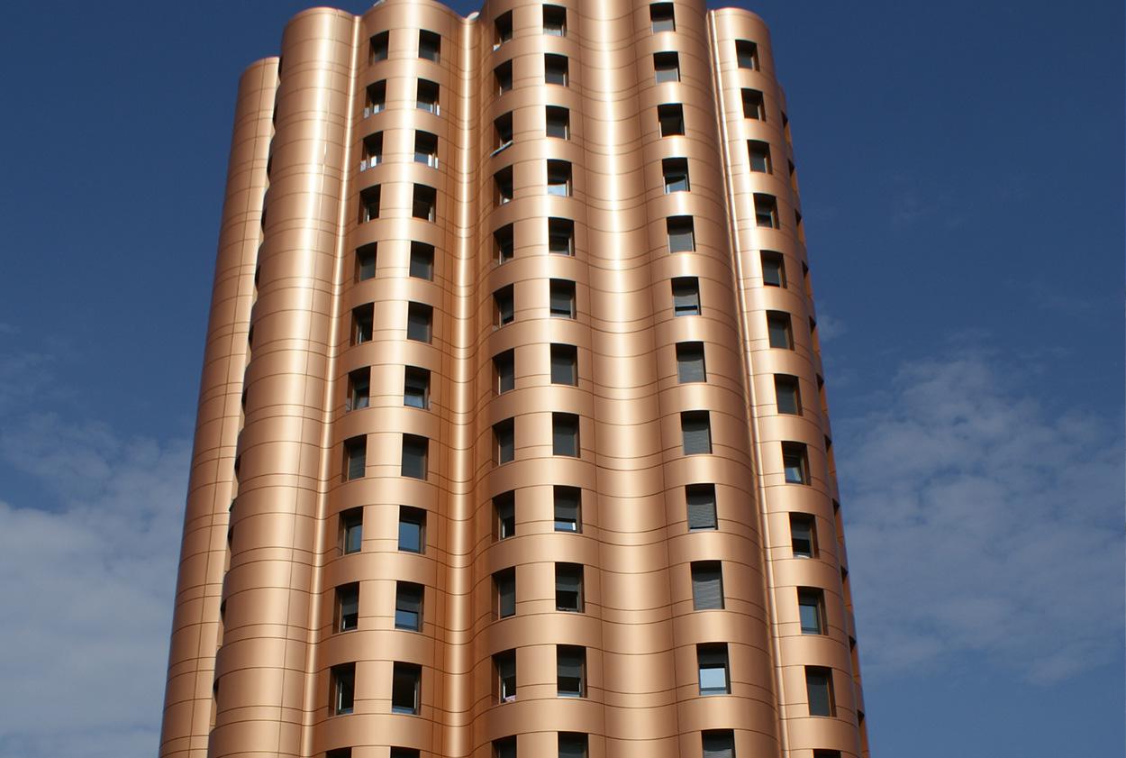 Photo façade - métal - planal planium - Vetisol