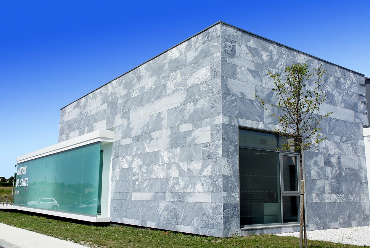 Photo façade - pierres naturelles - Vetisol
